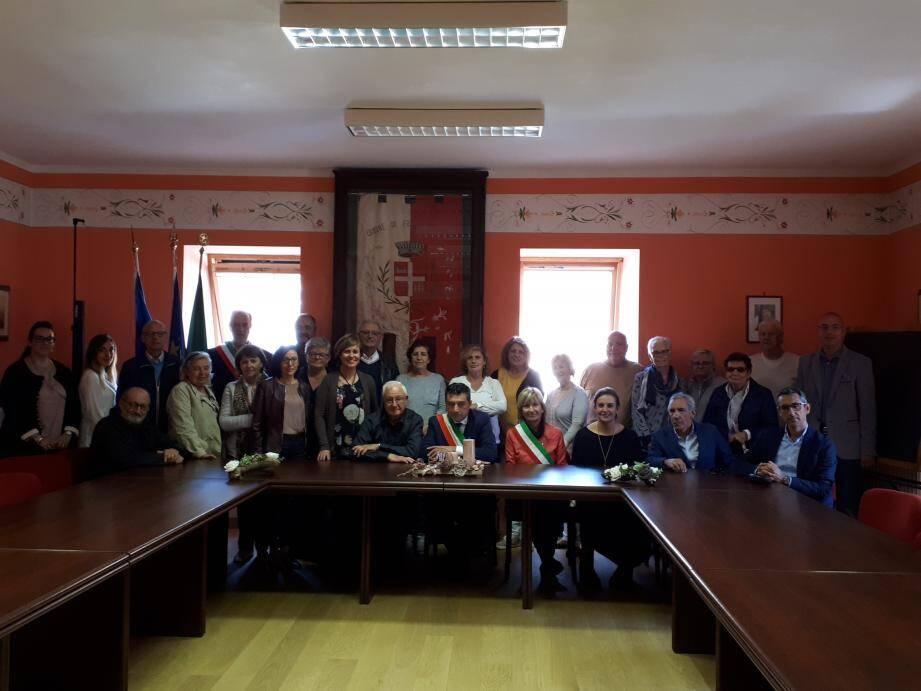 La semaine dernière 14 Collobrièrois ont été reçus à Frabosa Sottana, pour la célébration en grande pompe de 10 ans de jumelage.