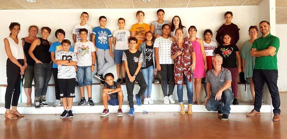 Aux côtés du professeur de technologie Christian Costes, des autres professeurs et responsables du collège La Marquisanne, les dix-neuf élèves des classes Segpa et Ulis sont fiers de s'engager dans ce projet.