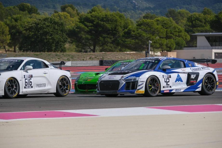 Les finales au Castellet se suivent et se ressemblent pour Grégory Guilvert et Fabian Michal, encore couronnés champions de France FFSA GT.