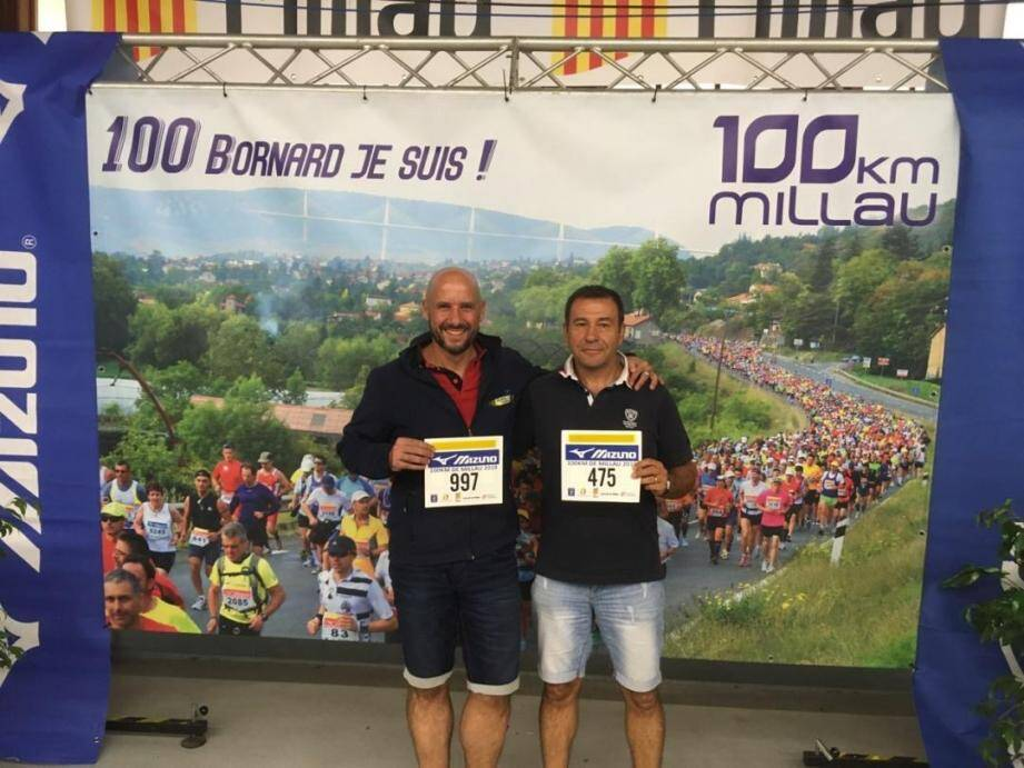 Les deux « bornards » Christian Rouvier et Laurent Vanesse.