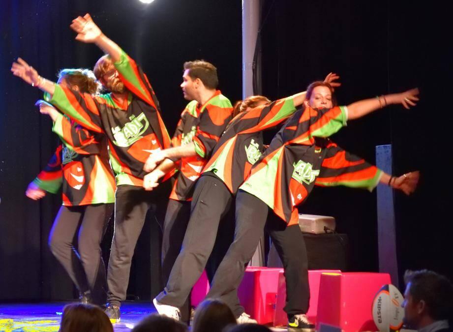 La Radit, une compagnie qui sait transcender  le théâtre d'improvisation.