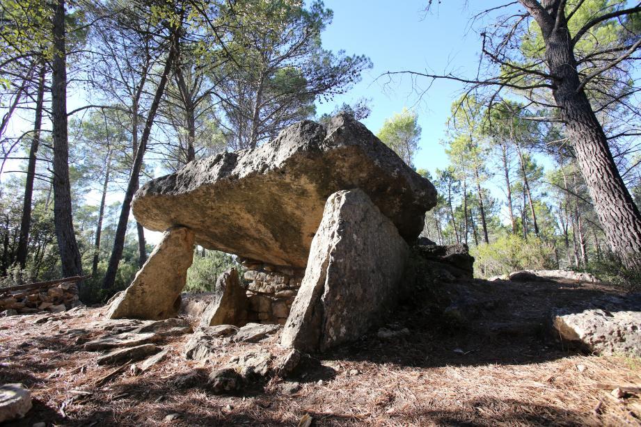 Le dolmen des Adrets de Brignoles, situé sur les hauteurs de la commune, sera le premier site à visiter, ce dimanche à 10 h30.