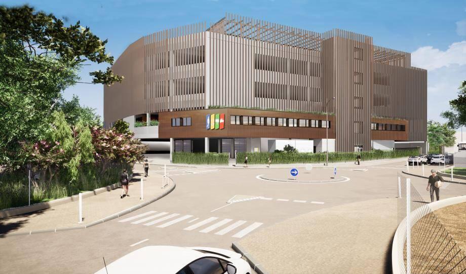 Le nouveau dépôt qui devrait prendre place d'ici trois ans sur le site des Trois-Moulins.