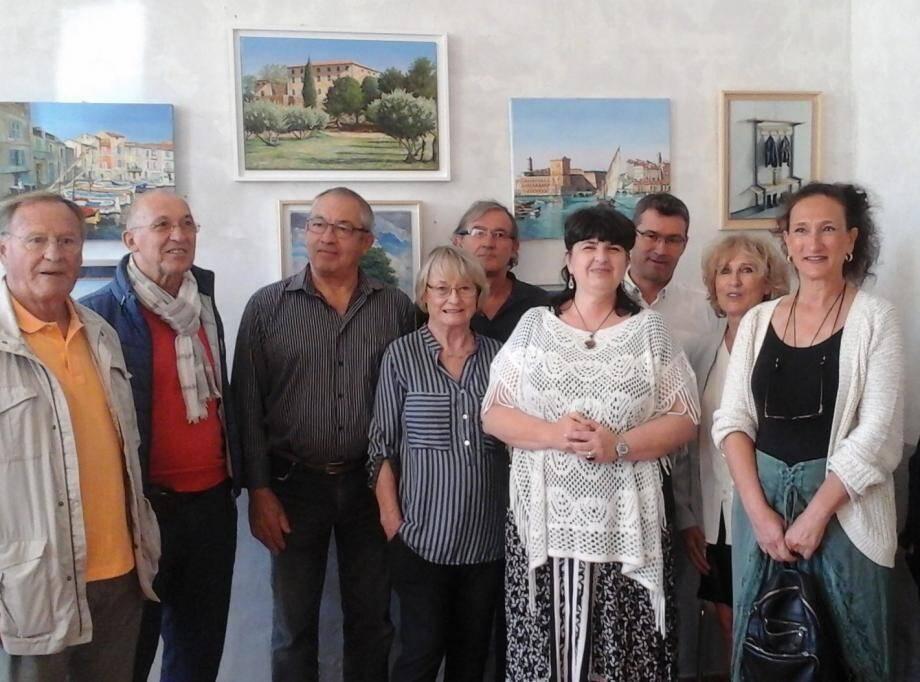 Les artistes peintres de Sillans-la-Cascade