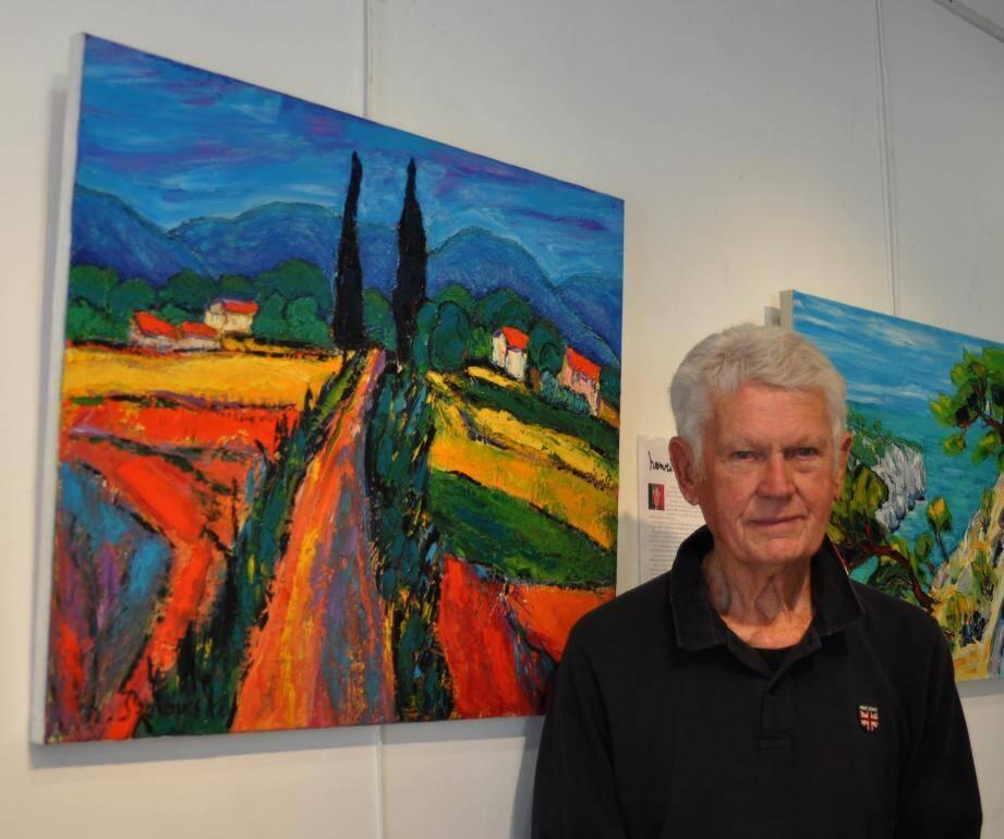Henri Borowski donne aux paysages provençaux toute leur quintessence.