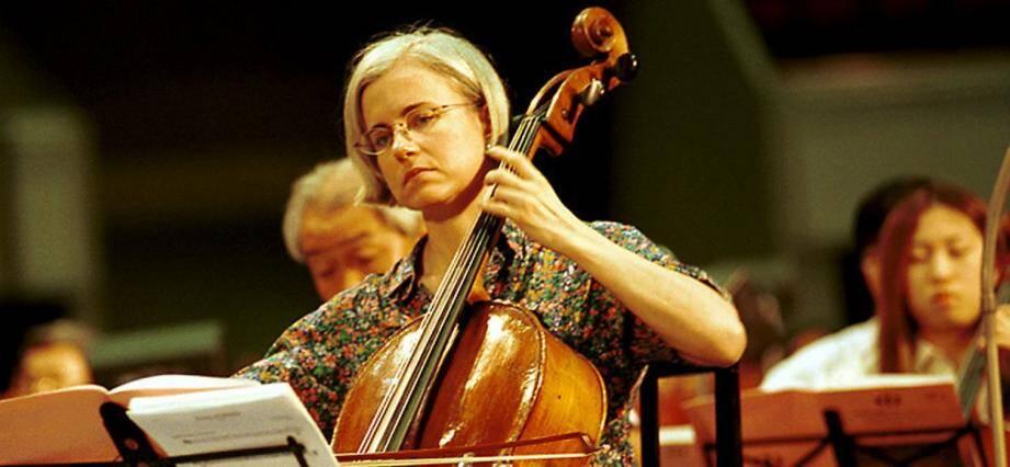 La violoncelliste Odile Bourin.(DR)