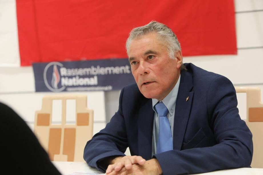 Jean-Paul Perez est conseiller municipal d'opposition RN. C'est lui qui mènera la liste frontiste aux élections de mars prochain à Cagnes.