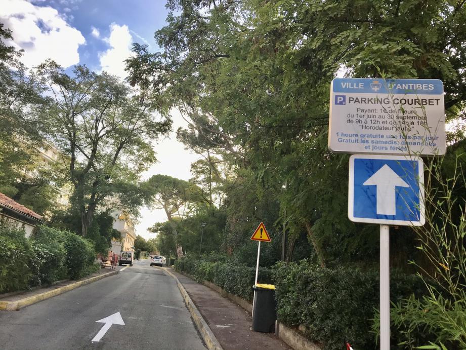Le parking Courbet va s'agrandir d'une trentaine de places.