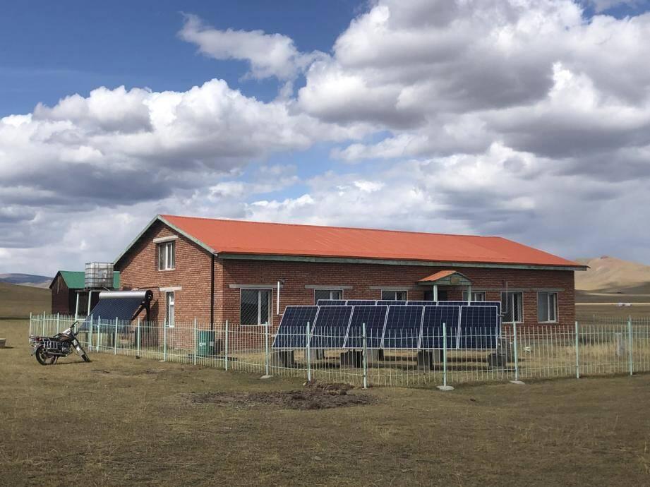 Le Centre de recherche et d'exposition archéologique de Tsatsyn Ereg, dans la province d'Arkhangaï en Mongolie.(DR)