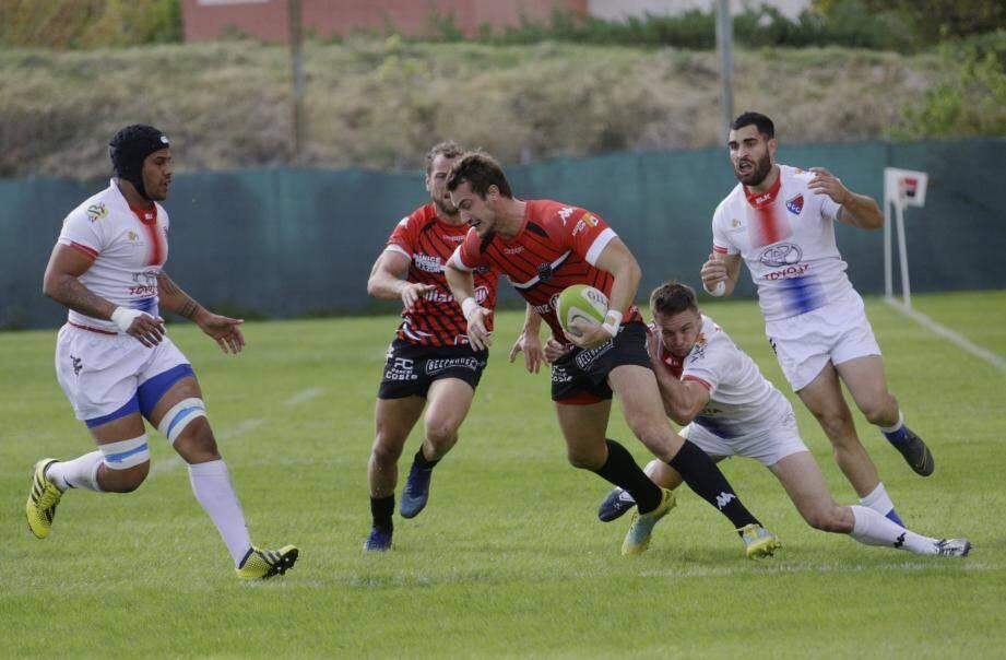 Les Niçois restent sur un succès à domicile contre Châteaurenard. A confirmer contre Bédarrides cet après-midi.
