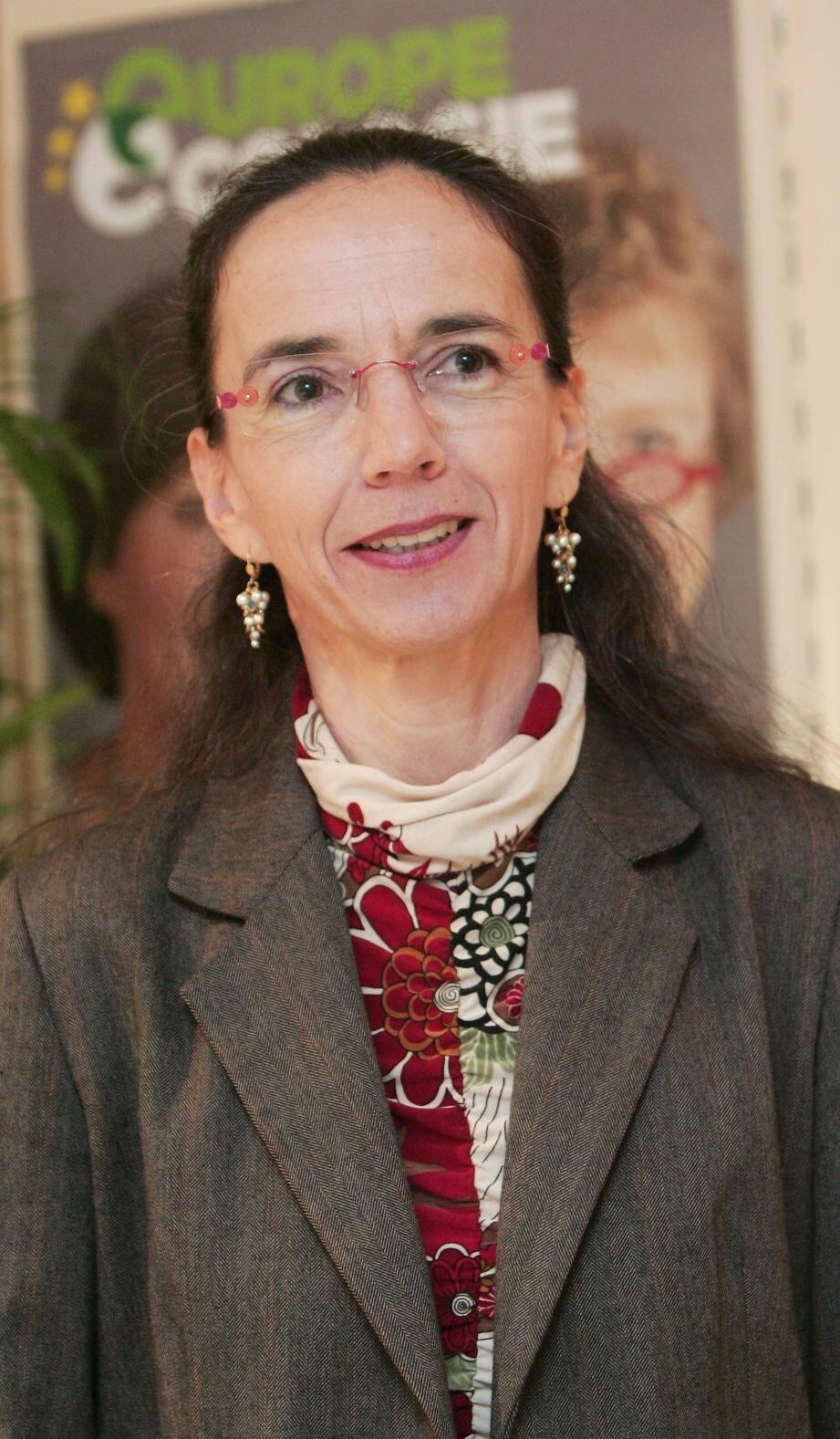 Juliette Chesnel-Le Roux, conseillère municipale verte niçoise, qui avait été élue sur une liste commune PS - EE-LV en 2014.