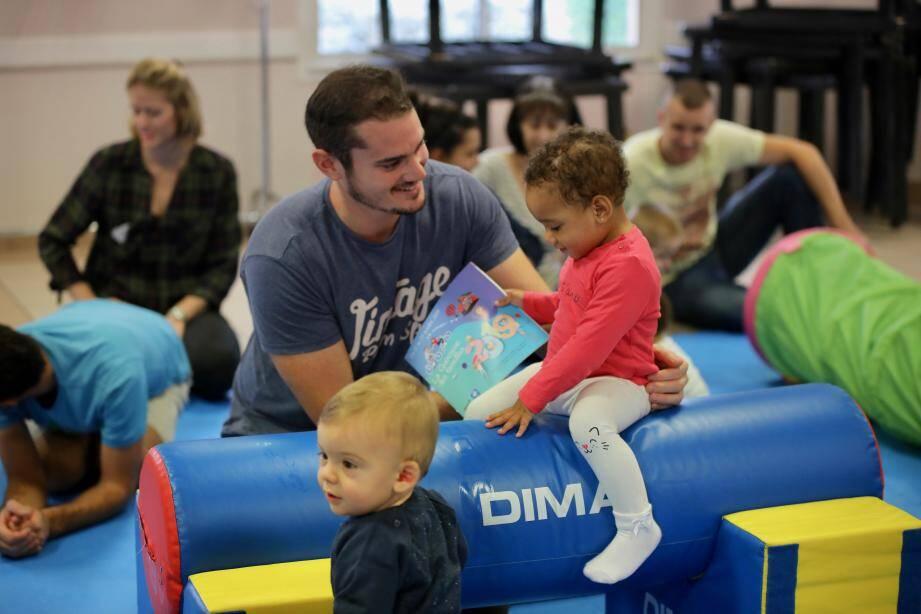La bougeothèque favorise le développement psychomoteur des bébés de la naissance à deux ans.