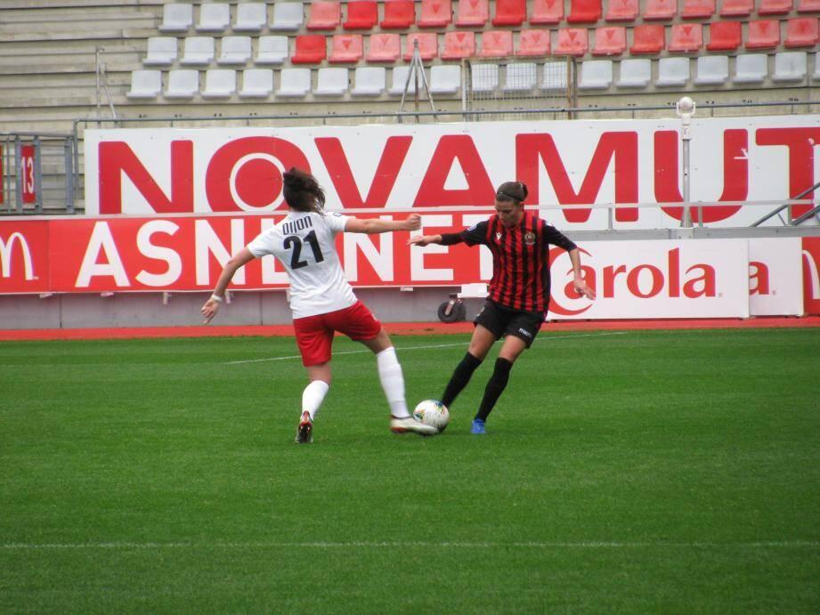 Les Niçoises de Léa Malaret ont montré de bonnes choses mais ont concédé leur 5e défaite en six matchs.