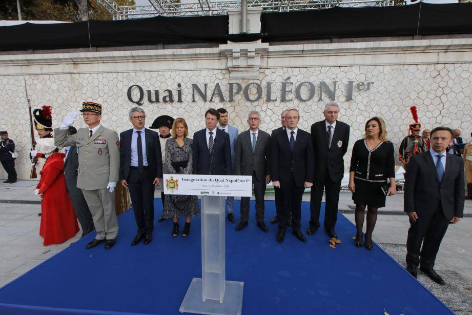 Stéphane Berne ainsi que de nombreuses personnalités politiques du département et de Corse ont pris la parole lors de cette inauguration.