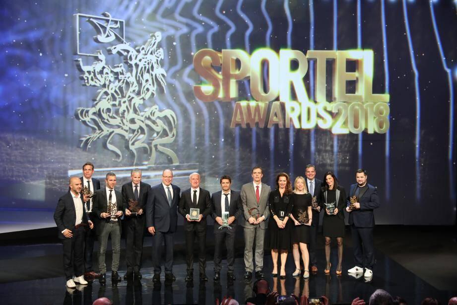 L'an passé, Didier Deschamps avait remporté le titre de Légende du sport après sa victoire en Coupe du monde avec l'Équipe de France. Bixente Lizarazu, lui, avait été primé pour la meilleure autobiographie.(DR)
