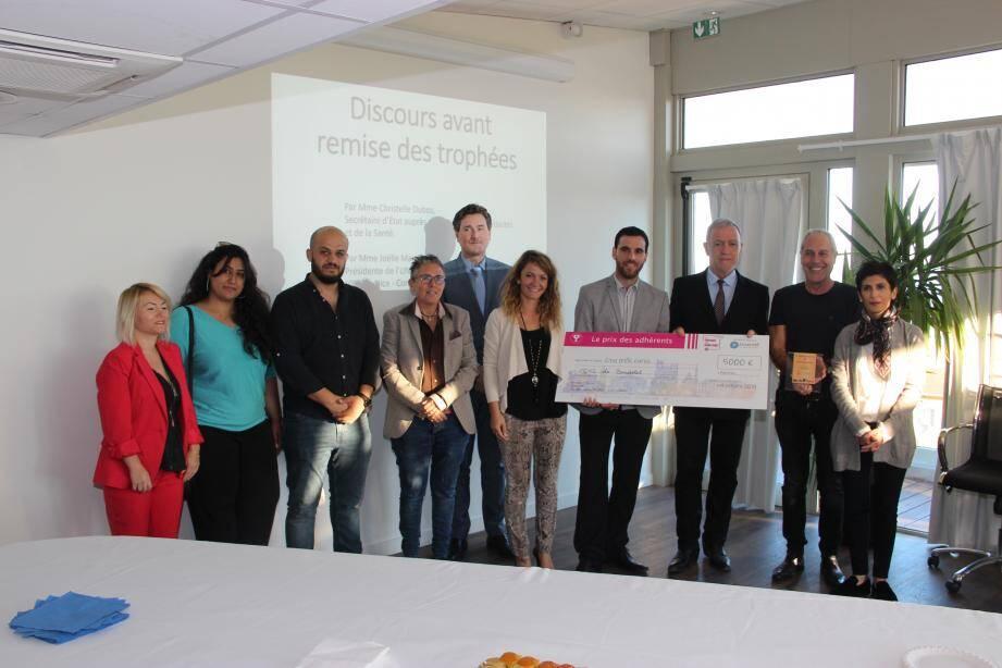 Les acteurs du dispositif d'insertion « Voltaire » ont été réunis par le maire. (DR)