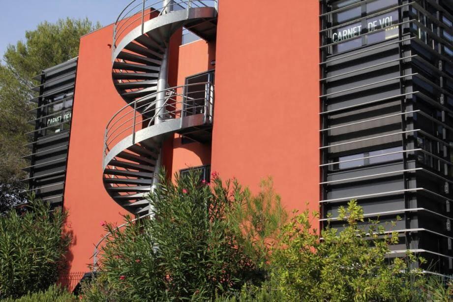 Le siège social, situé dans la technopole, allée Charles-Victor-Naudin, à Biot a fermé ses portes hier. (DR)