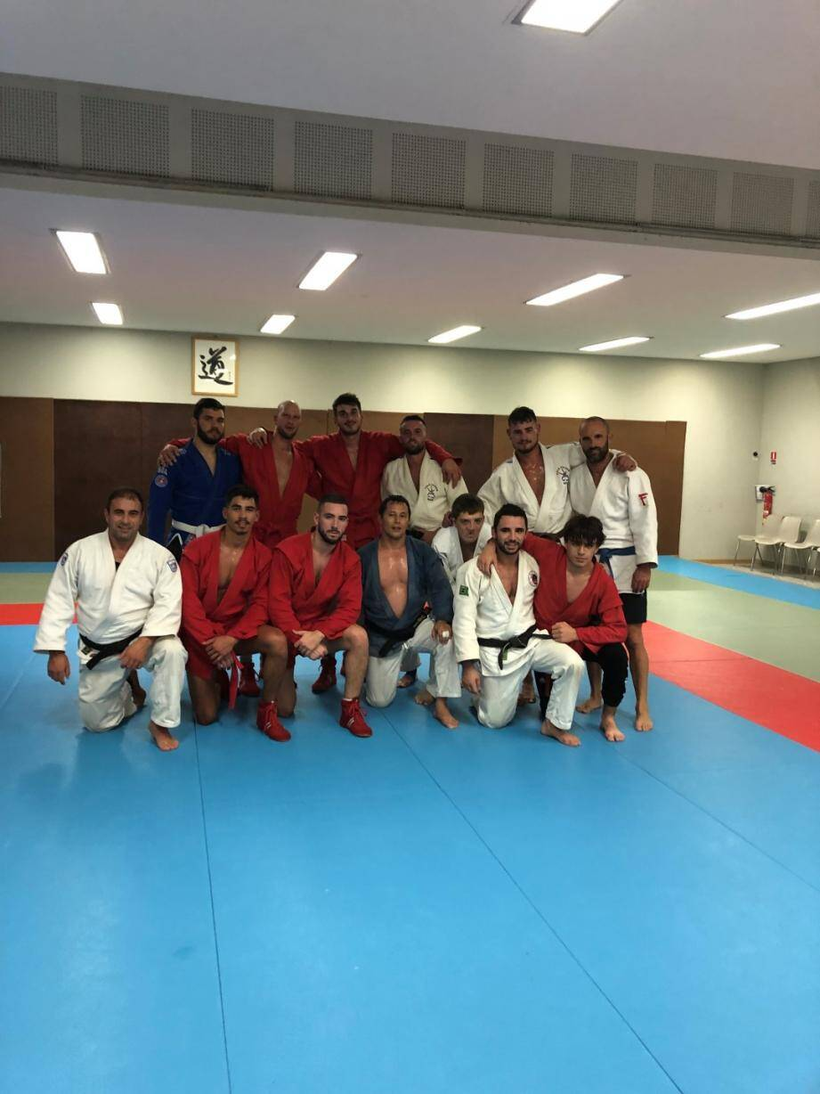 La section Sambo de Cannes Mougins Judo.	DR