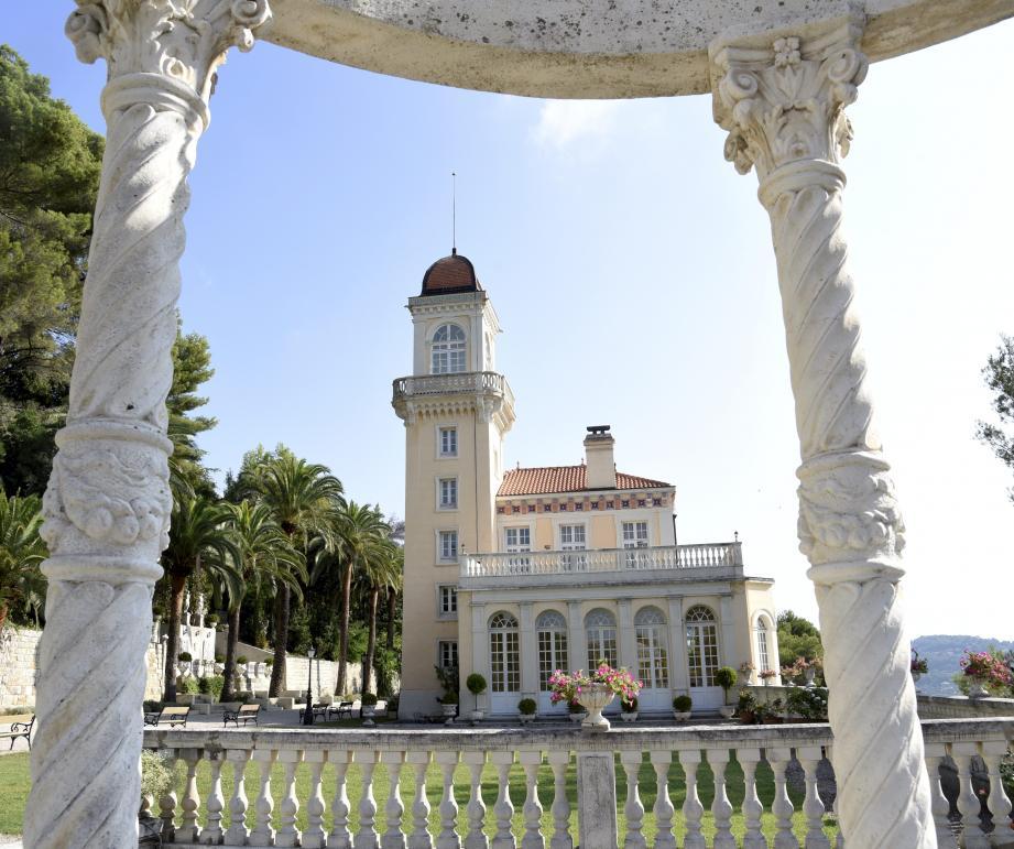 Le château Saint-Georges va accueillir le salon du mariage Wedding Royal. (Archives Nice-Matin)