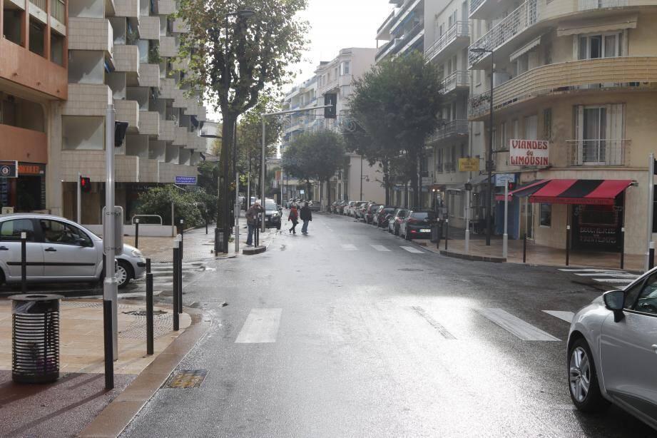 Les travaux concerneront le bas du boulevard Wilson, entre la rue du Printemps et l'avenue Maupassant.