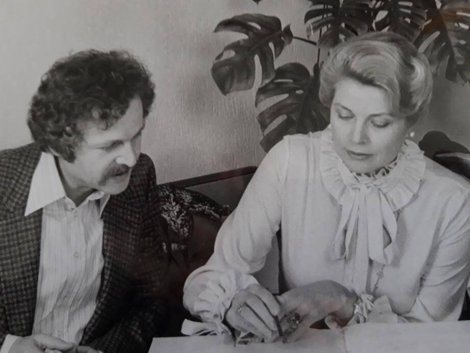 Parmi les temps forts du livre, l'auteur a interrogé Pierre Grosz qui, en 1979, écrit l'histoire L'Oiseau du nord et l'oiseau du soleil dont la princesse sera la narratrice en français et en anglais.(DR)
