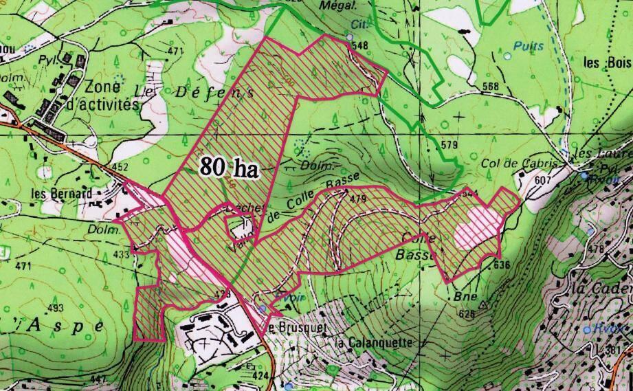 Une carte, qui précise de la zone de pâture, permet de mieux appréhender le cheminement du troupeau.