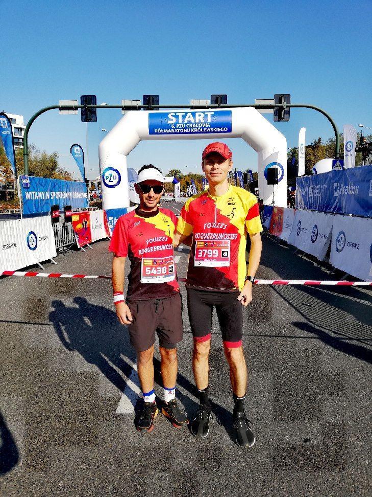 A gauche Romain Onillon, à droite Olivier Perret. (DR)