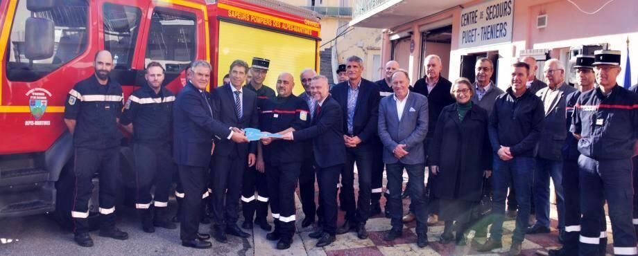 Toutes les personnalités ont dénoncé les incivilités dont sont victimes les pompiers dans leurs missions, et affiché leur respect, leur attachement et leur soutien.