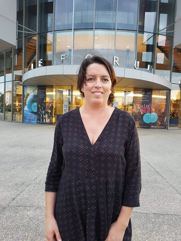 Mathilde Robeau animait récemment une conférence sur la place des écrans dans l'éducation au Forum.