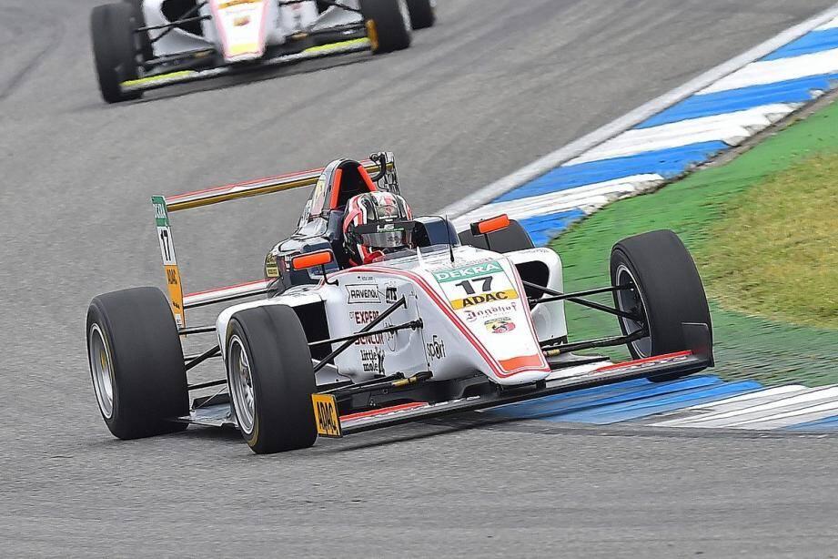 Apprenti doué, Arthur Leclerc a réussi son examen de passage en F4 allemande : 3e avec huit podiums - dont une victoire - au compteur.