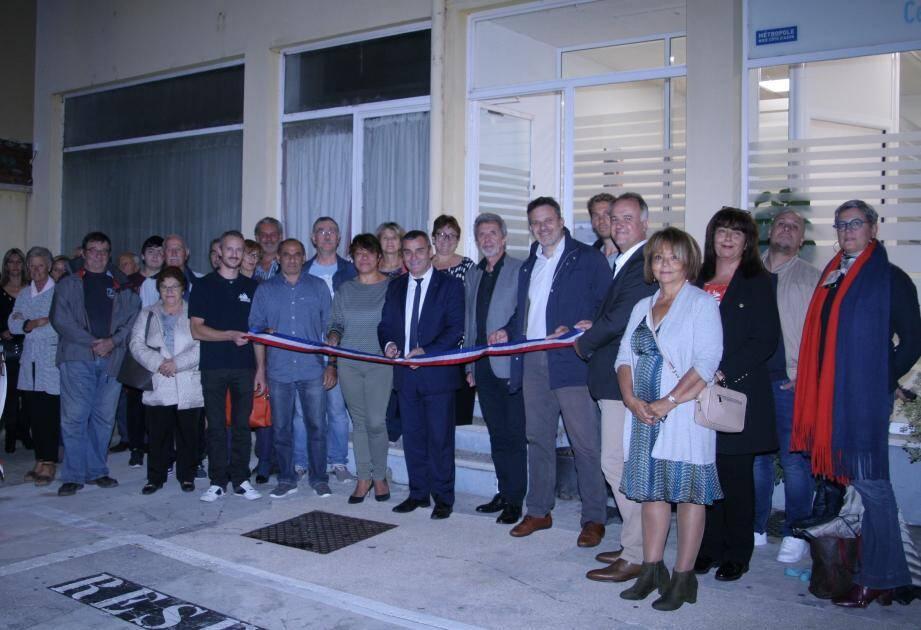 Les bureaux de la Régie Eau d'Azur officiellement inaugurés.