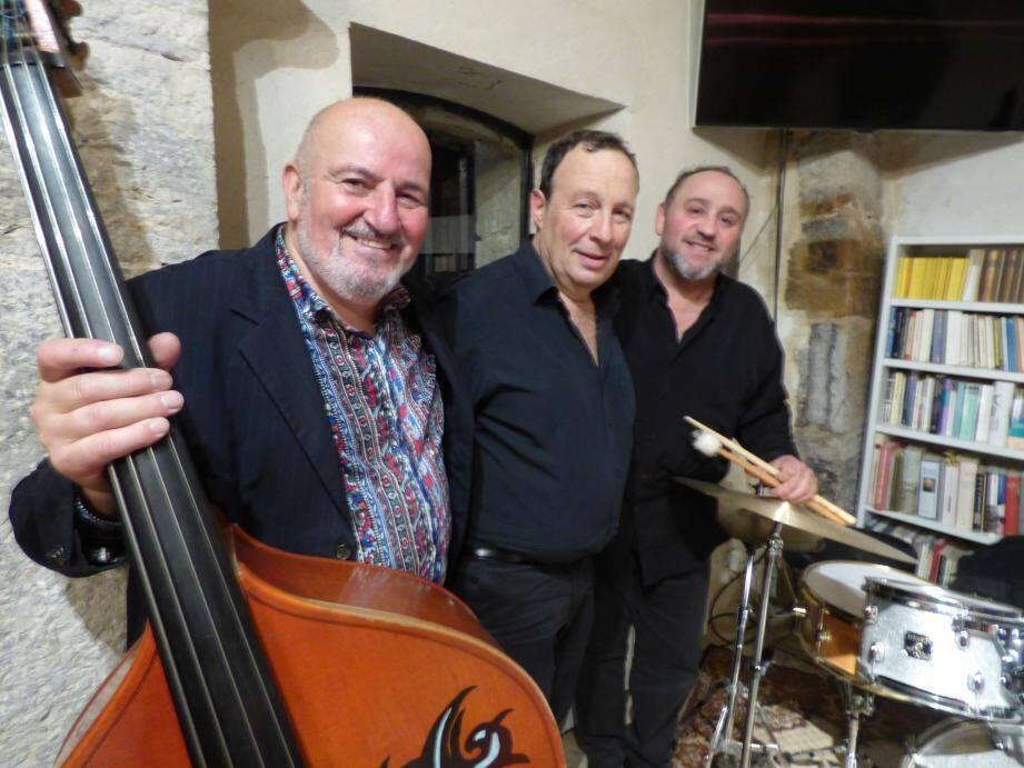 Le trio fait escale une fois par an au Moulin des arts. Ces artistes sont toujours très attendus par les amateurs de jazz.