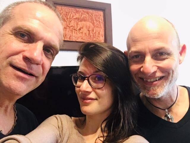 Robert, Mégane et Olivier d'Azur Tempo.(DR)