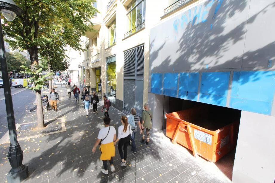 Dans quelques mois, le Pathé Paris sera une salle de sport aux desseins animés…