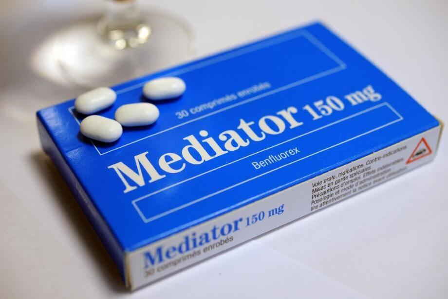 Une boîte de Mediator, le 18 novembre 2010.