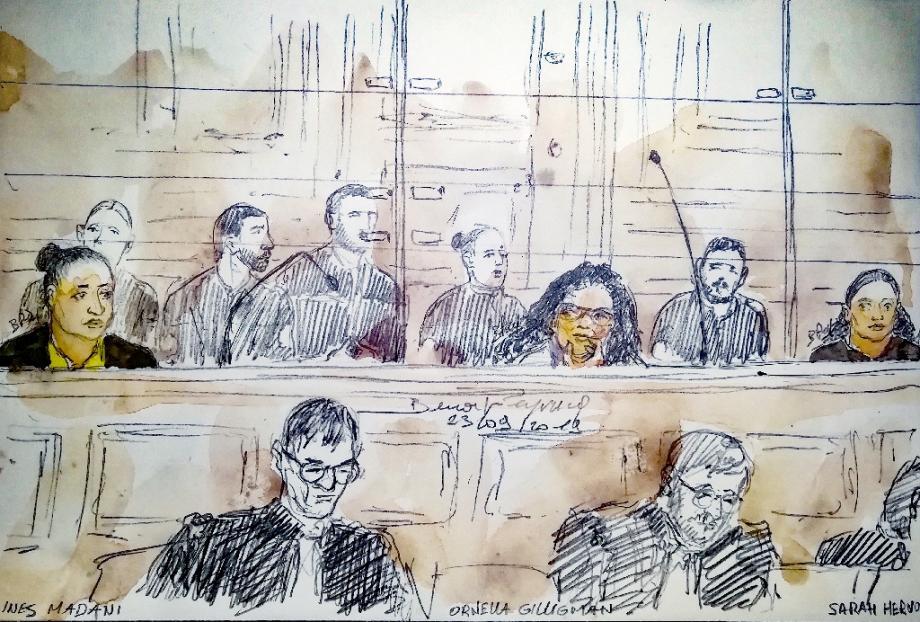 La Cour n'aura pas plus d'explication sur ses liens avec Abu Omar, un des surnoms utilisé par Inès Madani.