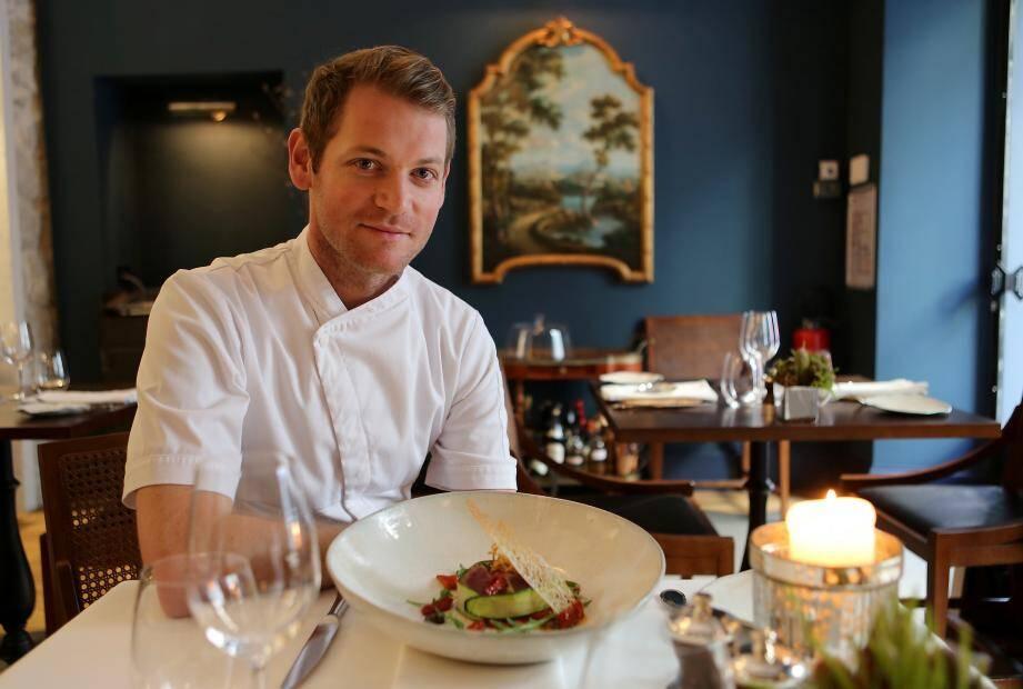 Le chef sud-africain du restaurant niçois JAN, l'une des tables gastronomiques préférées des utilisateurs de TripAdvisor.