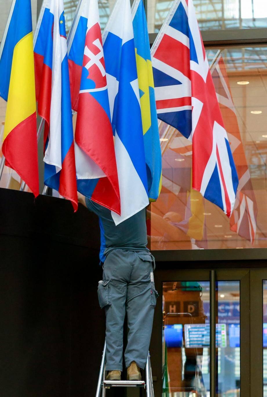 Le Conseil de l'Europe à Bruxelles.