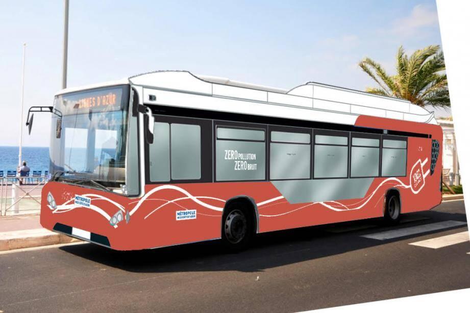 Voici le nouveau bus électrique qui passera par la Prom' dès décembre 2019.