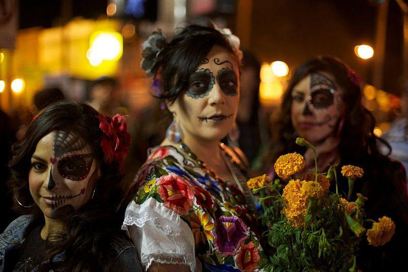 Illustration / Dia de los Muertos à San Francisco.