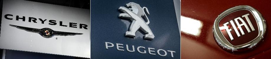 Fiat Chrysler et Peugeot discutent d'une fusion entre égaux pour créer un groupe valorisé à près de 50 mds USD (source proche)