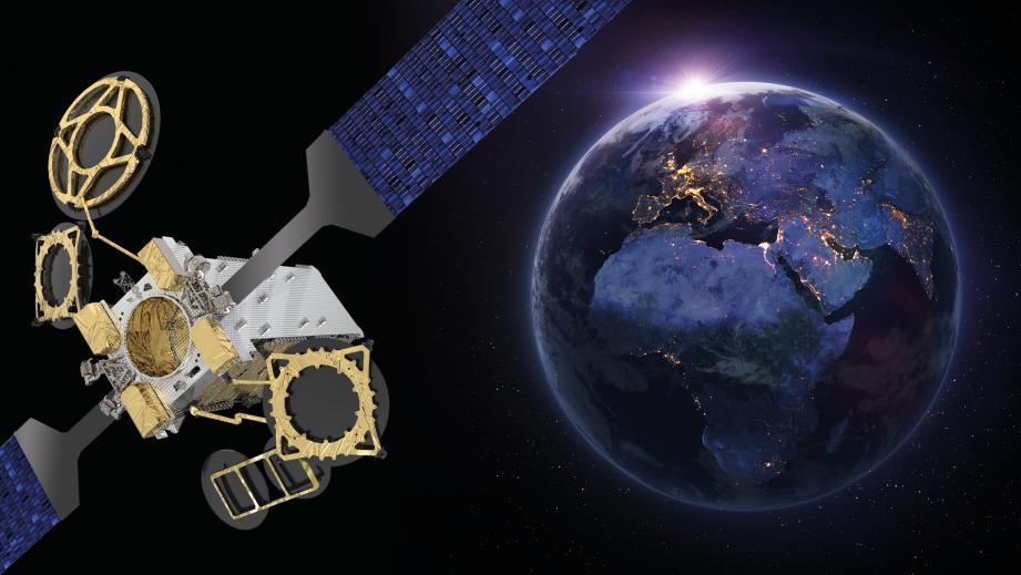 Le lancement d'Eutelsat 10B est prévu pour 2022.