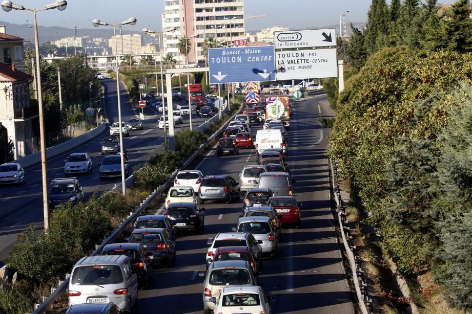 L'élargissement doit permettre d'améliorer la fluidité du trafic à l'est de Toulon.