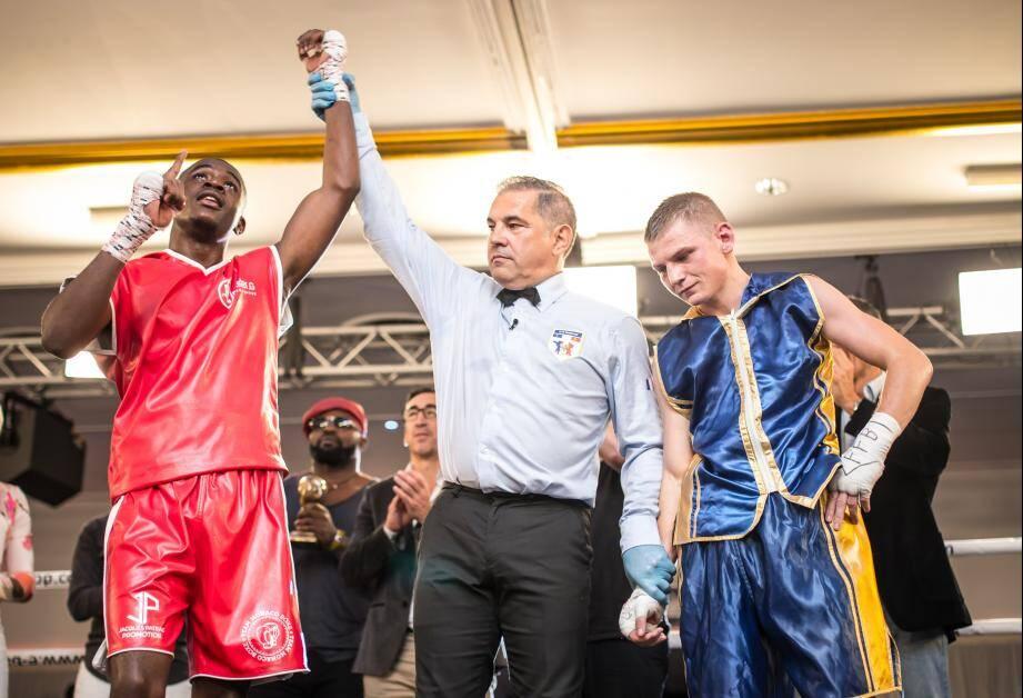 Christ Esabe, boxeur de la Team Monaco Boxe, a raflé le titre de champion de France chez les poids plumes.