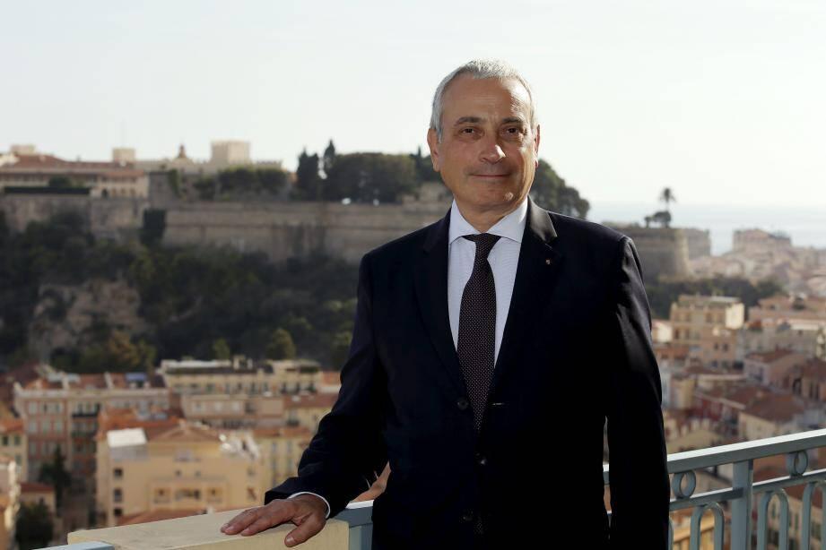 """Laurent Stéfanini, ambassadeur de France, accueillera """"dans les mois qui viennent"""", à Monaco, le président Emmanuel Macron."""