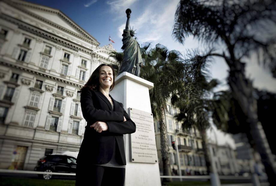 Rebecca Weiner, spécialisée dans la lutte contre le terrorisme à New York participe à la semaine européenne de la sécurité qui se tient à Nice.