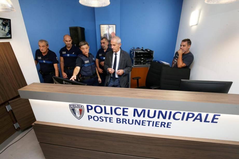 Depuis un mois, les policiers municipaux ont un poste d'attache, rue Brunetière, à deux pas de la cathédrale.