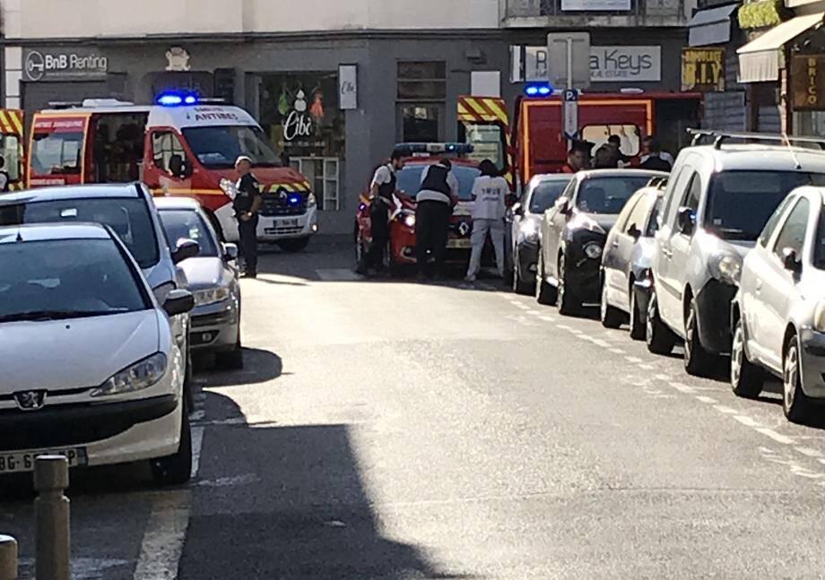 Un homme victime d'un malaise a été secouru à Antibes.