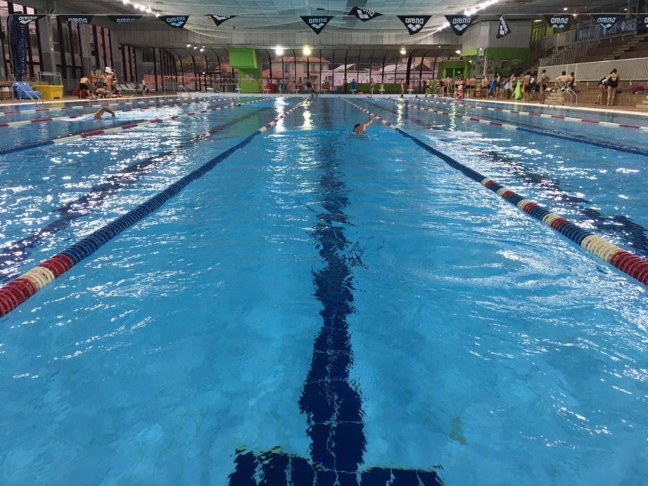 La piscine Jean Bouin à Nice.