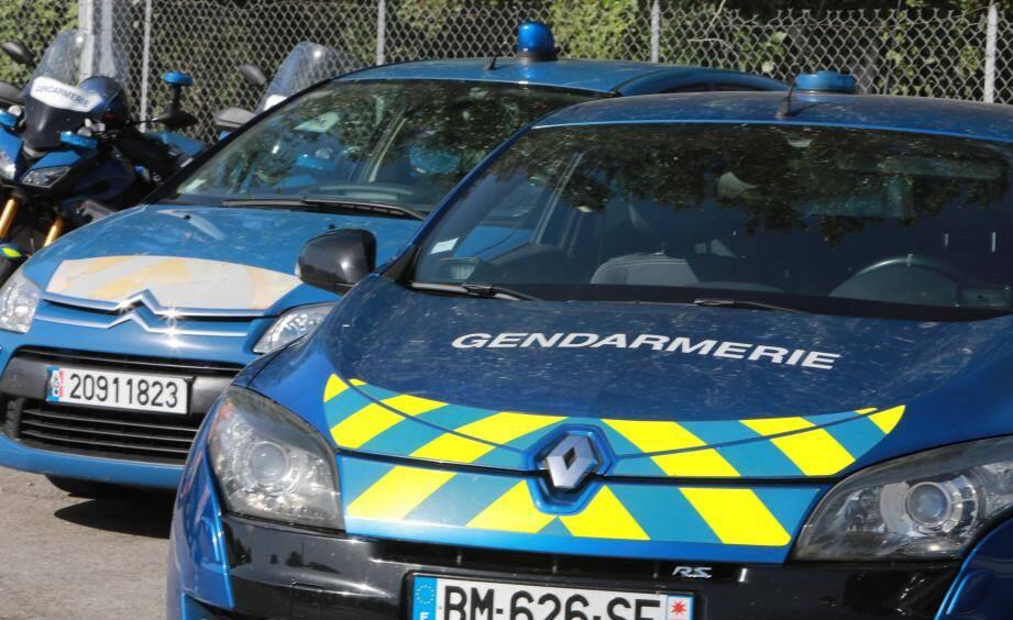 Le motard a été interpellé par les gendarmes du peloton motorisé de Saint-Maximin illustration).